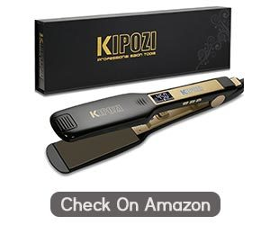KIPOZI Professional Wide Plate Hair straightener